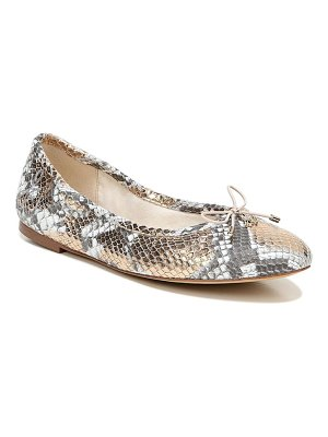 Sam Edelman 'felicia' genuine calf hair flat