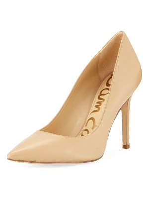 Sam Edelman Hazel Napa Leather Pointed Pump