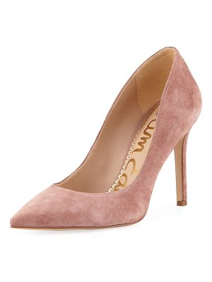 SAM EDELMAN Hazel Suede Pointed Pump