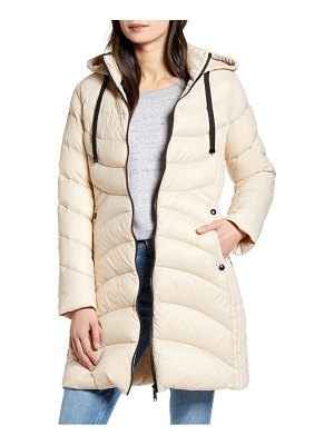 Sam Edelman hooded packable puffer coat
