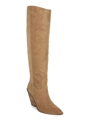 Sam Edelman indigo pointed toe knee high boot