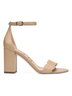 Sam Edelman odila scallop leather sandals