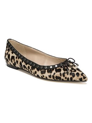 Sam Edelman ralf genuine calf hair flat
