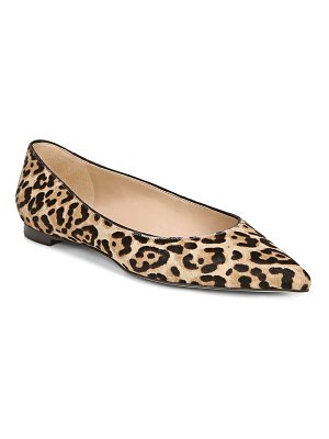 Sam Edelman sally genuine calf hair flat