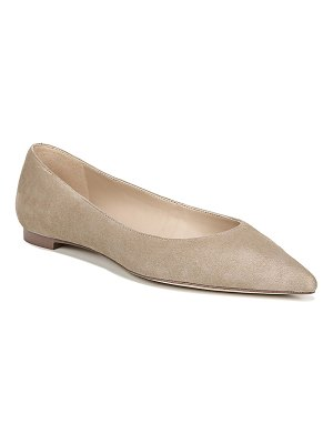 Sam Edelman Sally Pointed-Toe Suede Flats