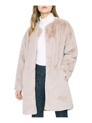 Sanctuary bronx faux fur city coat