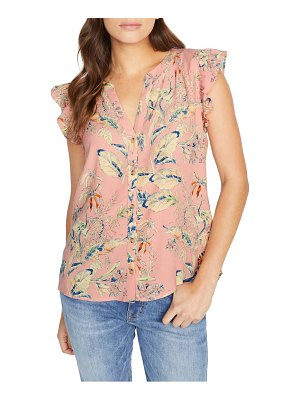 Sanctuary firefly floral blouse