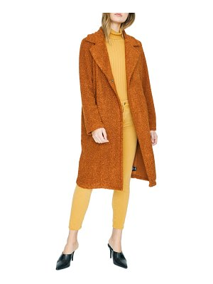 Sanctuary go long faux fur teddy coat