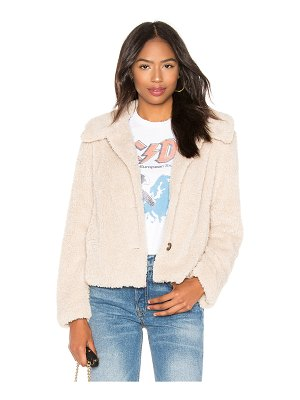 Sanctuary I Feel Luv Faux Sherpa Jacket