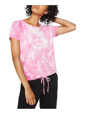 Sanctuary lou tie dye drawstring t-shirt