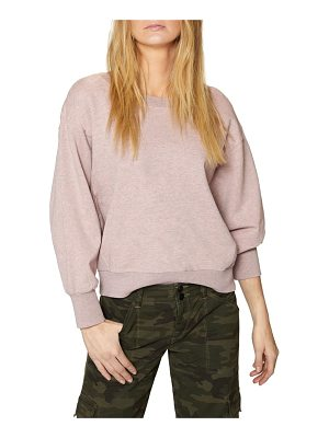 SANCTUARY Nolita Cotton Sweatshirt