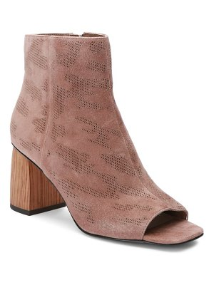 Sanctuary rock 2.0 laser cut camo open toe bootie
