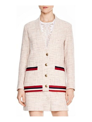 Sandro adelaide tweed jacket