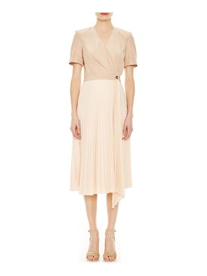 Sandro gladis 2-in-1 wrap dress