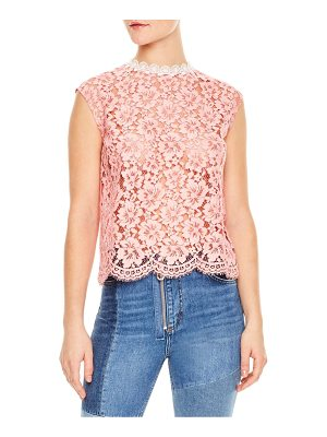 SANDRO Tally Lace Top