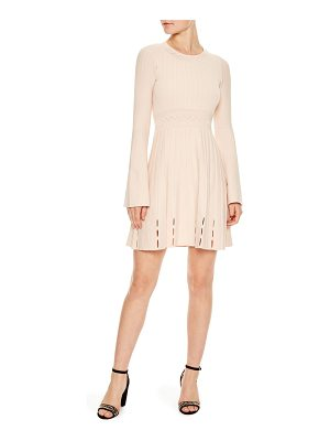 SANDRO Terez Ribbed Knit Dress