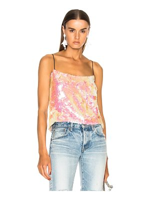 Sandy Liang Scales Sequin Cami Top