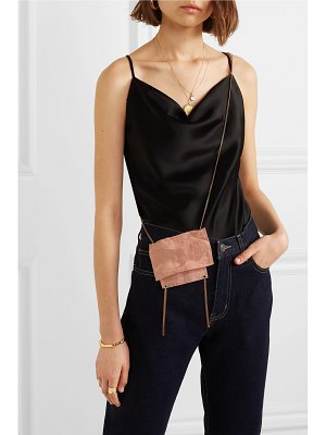 Saskia Diez metallic organza shoulder bag