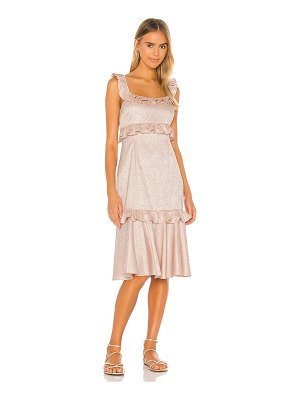 Saylor maxina dress
