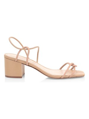 Schutz airana leather slingback sandals