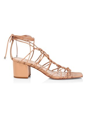 Schutz amehlia ankle-wrap leather sandals