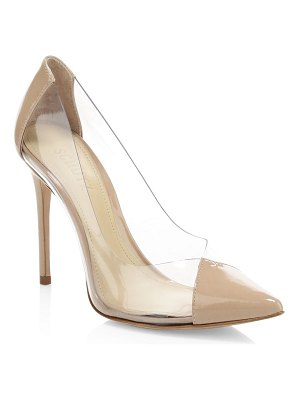 Schutz cendi patent leather pumps