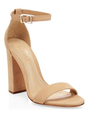 Schutz enida leather sandals