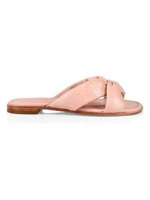 Schutz fairy padded leather sandals