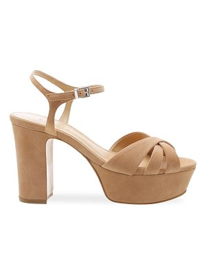 Schutz keefa leather platform sandals