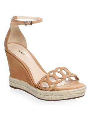 SCHUTZ Keira Toasted Nut Wedges