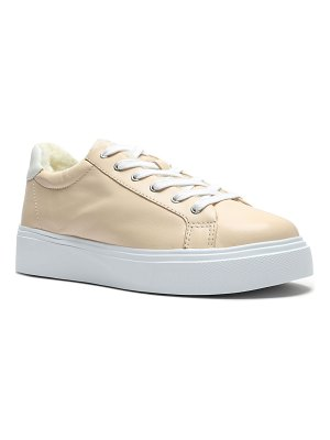 Schutz Kristin Low-Top Leather Sneakers