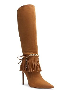 Schutz vickie pointed toe knee high boot