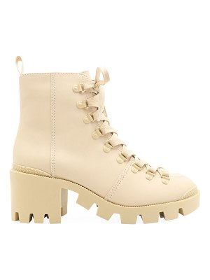 Schutz xayane lug-sole leather combat boots