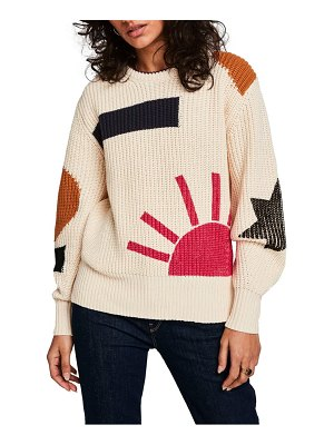 Scotch & Soda chunky patterned sweater
