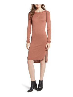 Scotch & Soda ladder inset sweater dress