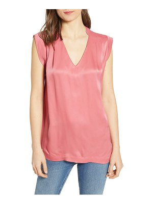 Scotch & Soda pleated sleeveless top