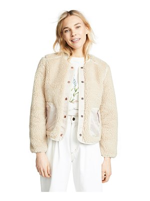 Scotch & Soda/Maison Scotch teddy jacket