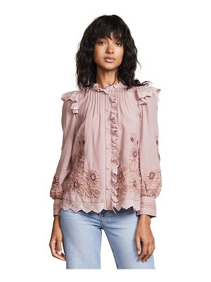 SEA greta ruffle blouse