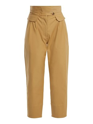 SEA Kamille High Rise Cotton Blend Trousers