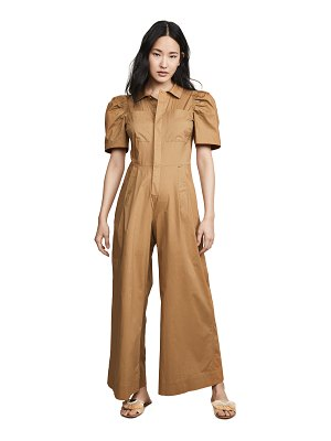 SEA sienna puff sleeve jumpsuit