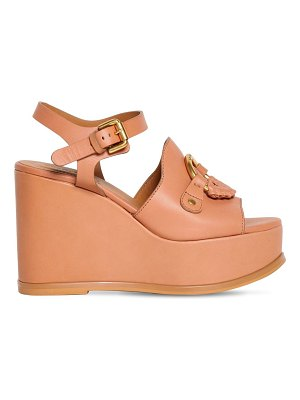 See By Chloe 100mm leather sandals
