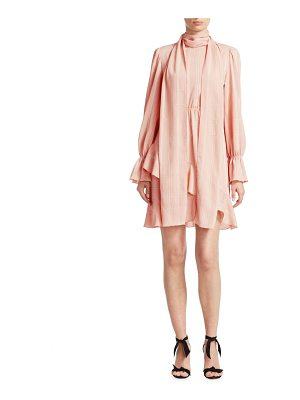 See By Chloe asymmetrical ruffle dress