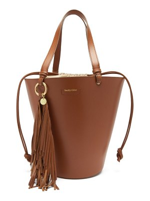 See By Chloe cecilia fringed leather bucket bag