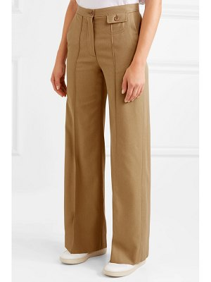 See By Chloe city twill wide-leg pants