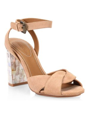 SEE BY CHLOE Crisscross Suede Sandals