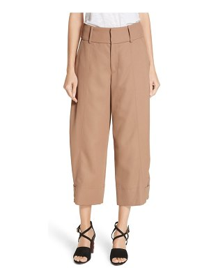 See By Chloe crop wide leg pants