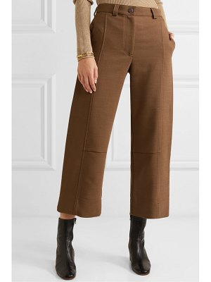 See By Chloe cropped twill wide-leg pants