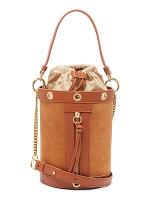 See By Chloe debbie suede and leather bucket bag