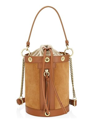 See By Chloe debbie suede bucket bag