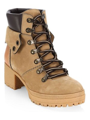 See By Chloe eileen platform construction boots